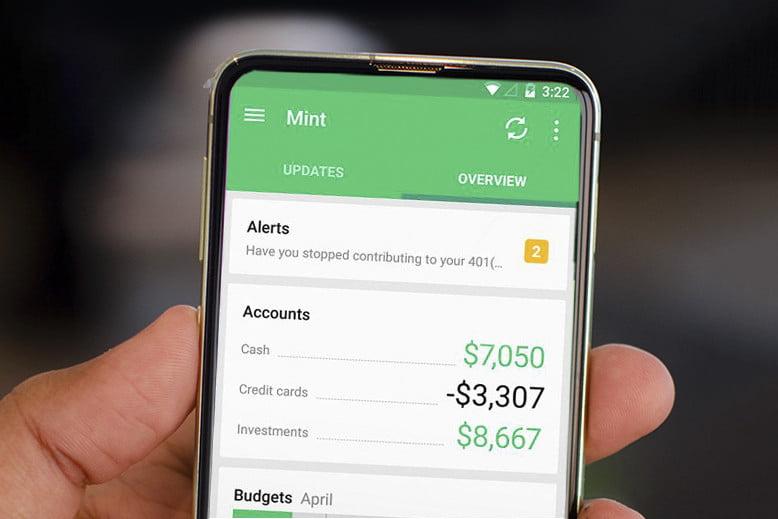 Mint app design
