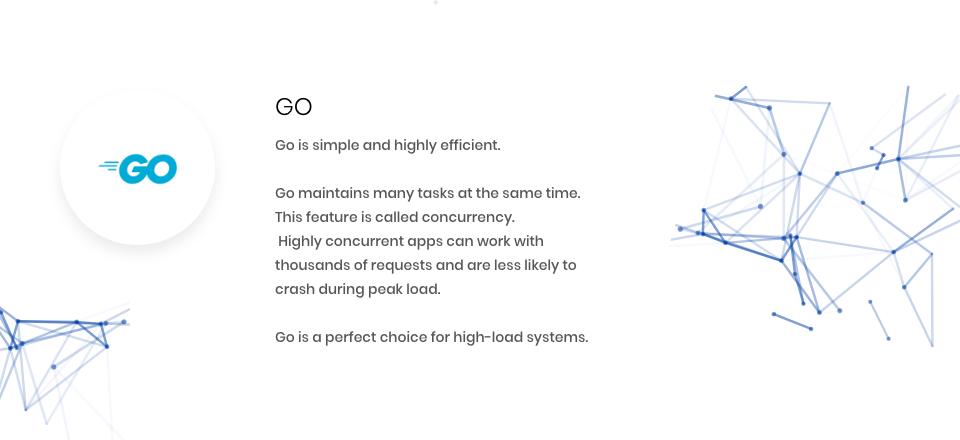 Go enters fintech programming languages