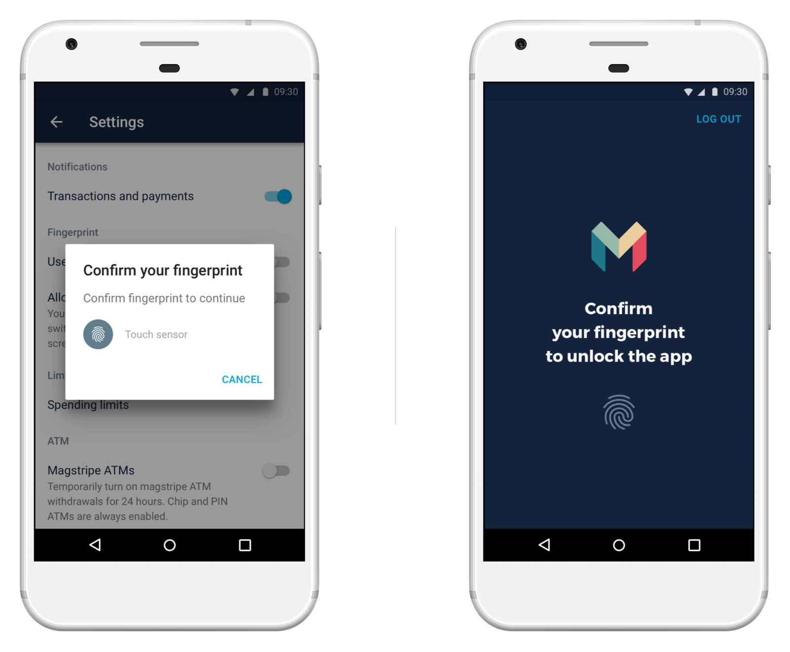 Banking app UX