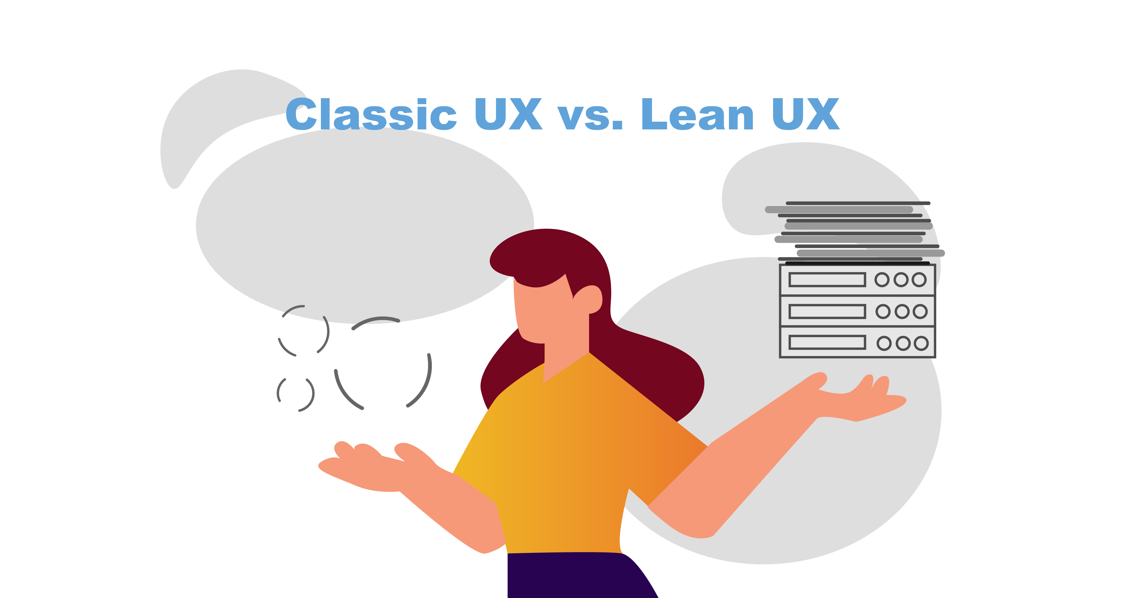 Difference between lean UX and classic UX