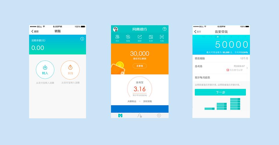 MYBank mobile app