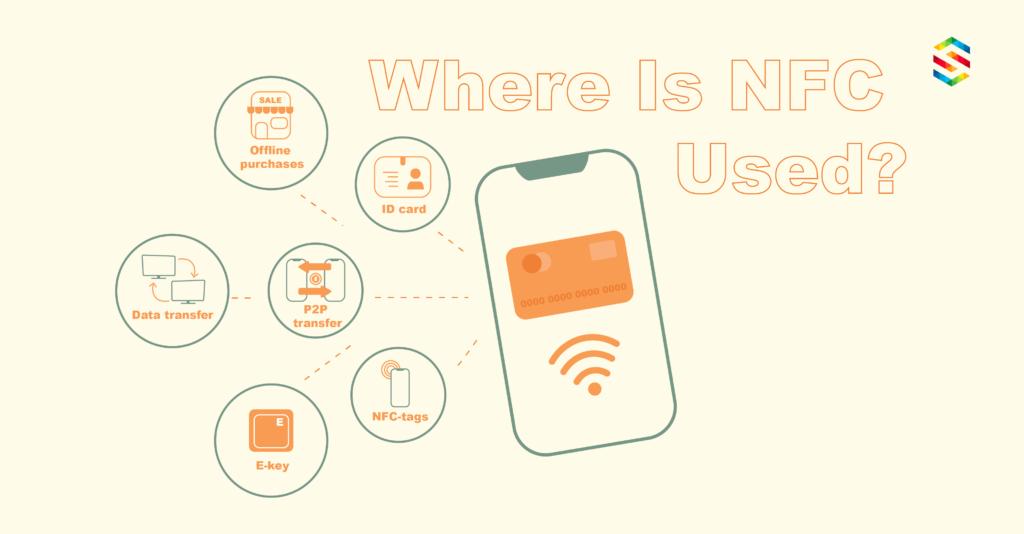 NFC usage areas